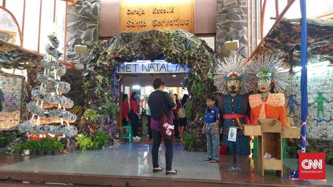 Kampung Sawah di Kota Bekasi menjadi wujud persaudaraan antara umat Nasrani dan Islam yang sudah terjalin lebih dari seabad.