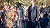 <p>Di hari yang sama, Pangeran George dan Putri Charlotte diajak Kate Middleton dan Pangeran William untuk menghadiri acara gereja. (Foto: Instagram @kensingtonroyal)</p>