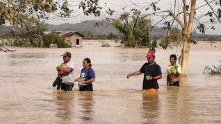 FOTO : Jejak Amuk Topan Phanfone Hantam Filipina