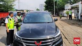 Belasan Kendaraan Tak Bayar Pajak Terjaring Razia