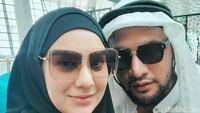 <p>Baru-baru ini, Irish Bella dan Ammar Zoni dapat kesempatan untuk mengunjungi Tanah Suci Mekah, Arab Saudi. (Foto: Instagram @_irishbella_)</p>