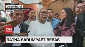 VIDEO: Bebas Bersyarat, Ratna Sarumpaet Keluar dari Lapas