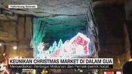 VIDEO: Keunikan Chrismas Market di Dalam Gua