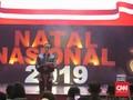 Pesan Damai Jokowi di Perayaan Natal Nasional