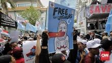 Twitter Kunci Akun Kedubes China di AS Imbas Rendahkan Uighur