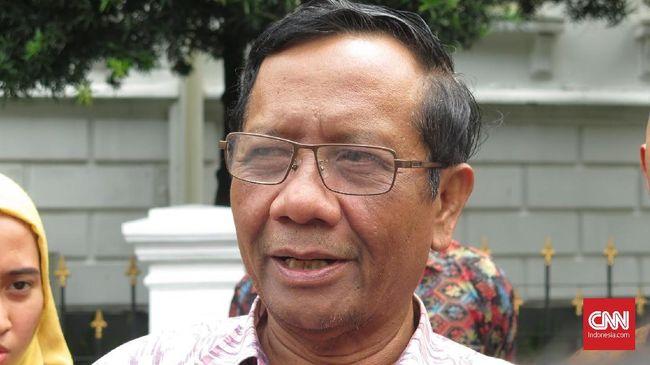 Mahfud menyebut ada dana Asabri yang melorot, namun ada dana yang masih bisa digunakan untuk jaminan hari tua, pensiun, dan uang kematian prajurit TNI/Polri.