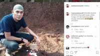 """<p>Bayi mereka dimakamkan pada 20 Desember lalu. """"Maisara alesha rihihina..tunggu umi & ayah di surga ya de..,"""" tulis istri Markus di akun Instagram pribadinya. (Foto: Instagram @markoesharison81)</p>"""
