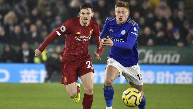 Leicester City akan menjamu Liverpool dalam laga Liga Inggris, Sabtu (13/2). Berikut perkiraan susunan formasi kedua tim.