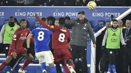 FOTO: Liverpool Pesta Gol di Markas Leicester