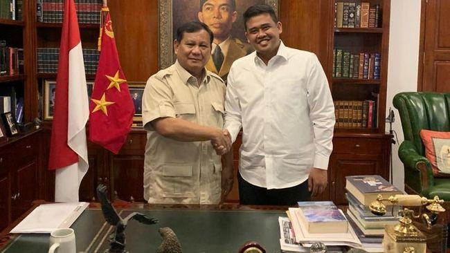 Ketua Umum Gerindra Prabowo Subianto menyiapkan kadernya bernama Aulia Rachman menjadi calon wakil wali kota Medan.