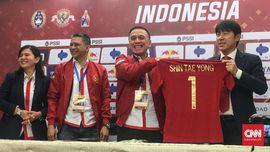 Syarat Berat Shin Tae Yong untuk Pemain Timnas Indonesia