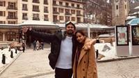 <p>Setelah bertandang ke Paris, Raffi, Nagita, dan keluarga melancong ke Swiss. Kali ini berfoto di Zermatterhof. (Foto: Instagram @raffinagita1717)</p>