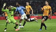 Deretan Rapor Buruk Man City vs Wolverhampton
