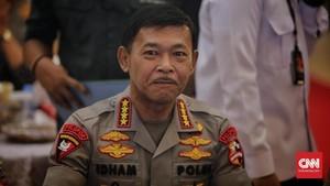Kapolri Idham Azis Naikkan Pangkat Luar Biasa 32 Personel