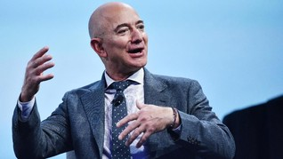 Jeff Bezos Jual Saham Amazon Rp45 T