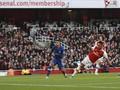Arsenal Unggul 1-0 atas Chelsea di Babak Pertama