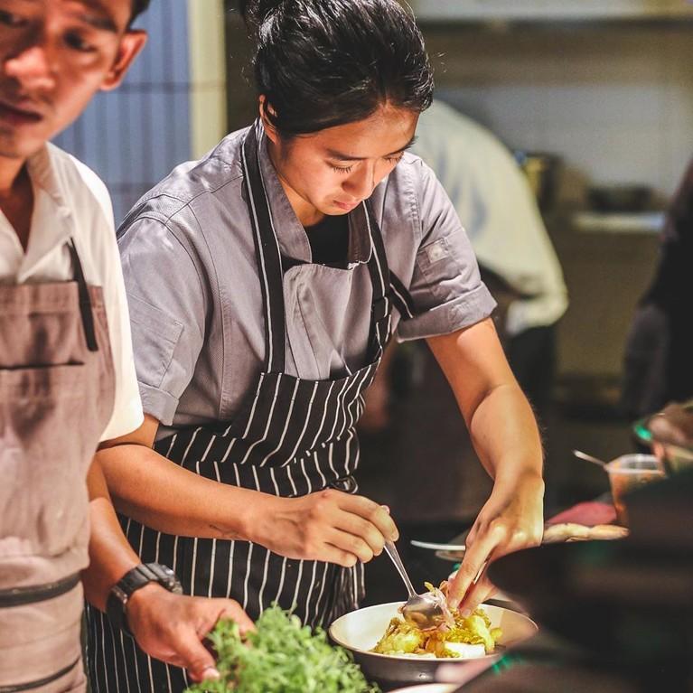 Kecantikan Chef Renatta membuatnya jadi trending topic di Twitter.