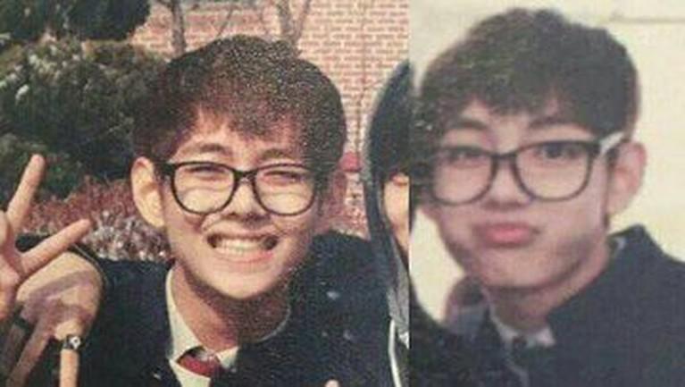 Sebelum debut sebagai personel BTS, V dibesarkan di kota Geochang dan anak tertua dari tiga bersaudara.