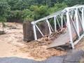 Antisipasi Ambruk, Gubernur Sumsel Pinjam Jembatan Darurat