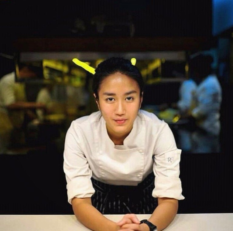 Chef Renatta dianggap memiliki kecantikan khas wanita Indonesia.