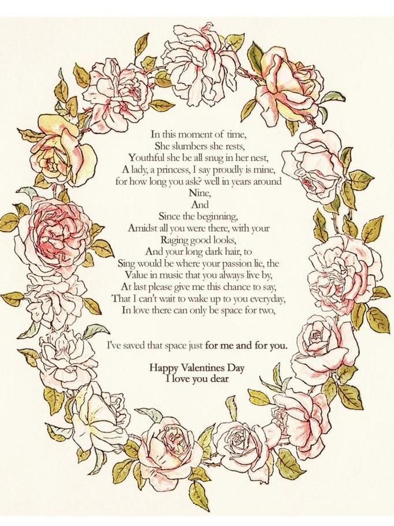 Meski begitu, Rayhan terlihat seperti sosok yang romantis. Terbukti ketika dirinya mengirimkan sebuah ucapan manis pada momen Hari Kasih Sayang.