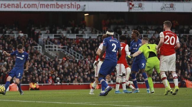 Blunder kiper Arsenal Bernd Leno membuat Mikel Arteta gagal meraih kemenangan perdana saat meladeni Chelsea di Liga Inggris.
