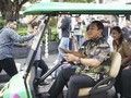 Gaet Wisatawan ke Semarang, Gojek Beri Golf Cart Akhir Tahun