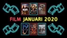 INFOGRAFIS: Jadwal Film Tayang Januari 2020