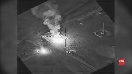 VIDEO: Detik-detik Serangan Udara AS ke Milisi Syiah Irak