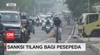 VIDEO: Sanksi Tilang Pesepeda yang Melintas Tidak di Jalurnya