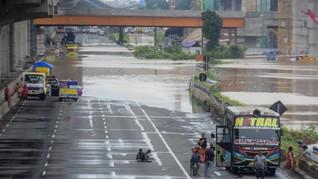 Daftar Jalan Tol yang Terdampak Banjir Jakarta