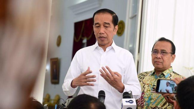 Presiden Joko Widodo melakukan pertemuan dengan petinggi partai koalisi dan pimpinan DPR untuk membahas penyelesaian masalah Jiwasraya dan Asabri.