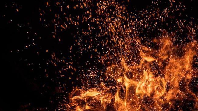 Amuk para calon PNS Keerom membuat kaca-kaca kantor Bupati Keerom hancur, kantor Disnaker hangus dilalap si jago merah.