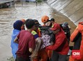 FOTO : Banjir Awal Tahun di Jakarta