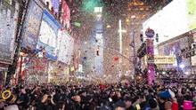 Pesta Tahun Baru di Times Square Bakal Digelar Virtual
