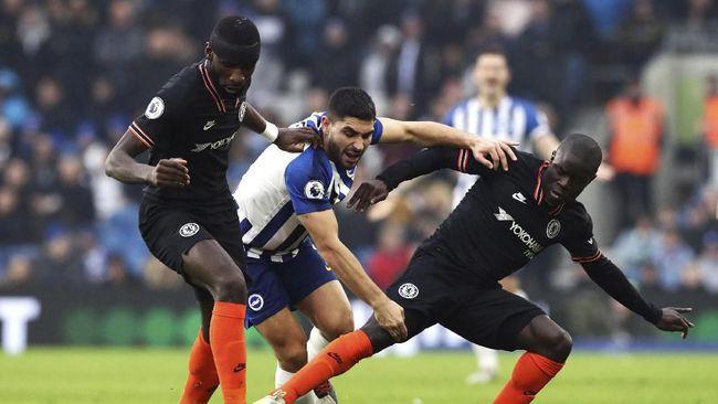 Pemain belakang Chelsea Antonio Rudiger meminta maaf usai menyukai unggahan Khabib Nurmagomedov yang mengecam Emmanuel Macron.