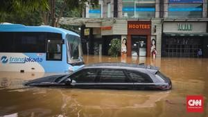 BMKG Ungkap Waktu dan Penyebab Potensi Banjir Jakarta