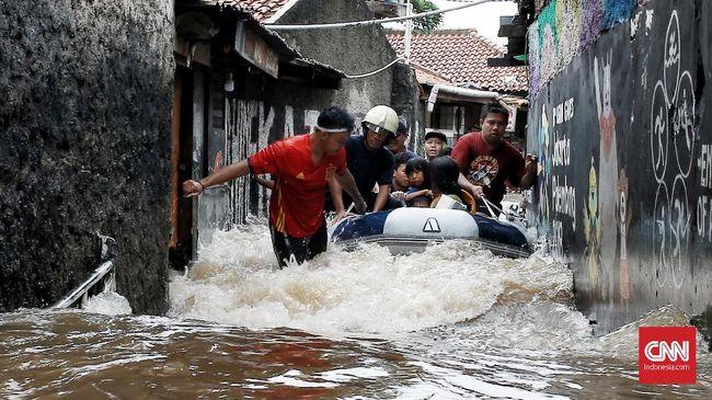 Berikut daftar posko penerimaan bantuan banjir di wilayah Jakarta.