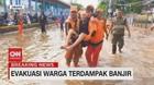 VIDEO: Evakuasi Warga Terdampak Banjir di Daan Mogot