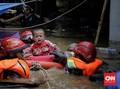 Ibu di Bintaro Selamatkan Bayinya dari Banjir ke Dalam Kulkas