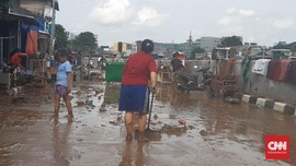 Daerah Normalisasi Ciliwung Era Ahok Tetap Diterjang Banjir