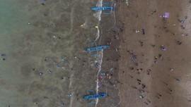 Pantai Pangandaran Dibuka, Turis Wajib Bawa Hasil Rapid Test
