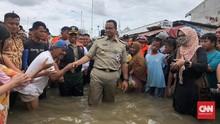 Pakar Kritik Klaim Anies Banjir Surut Sehari & Target 6 Jam
