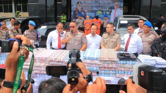 Polda Jatim Ungkap Investasi Bodong Memiles Omzet Rp750 M