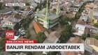 VIDEO: Penampakan dari Udara Banjir Kali Bekasi