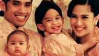 Pada tahun 2013, lahir anak kedua Dian Sastro dan Indraguna Sutowo yang diberi nama Ishana Ariandra Nariratana Sutowo. (Foto: Instagram @therealdisastr)