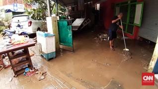 Banjir Makassar Surut dalam Sepekan, Ribuan Pengungsi Pulang