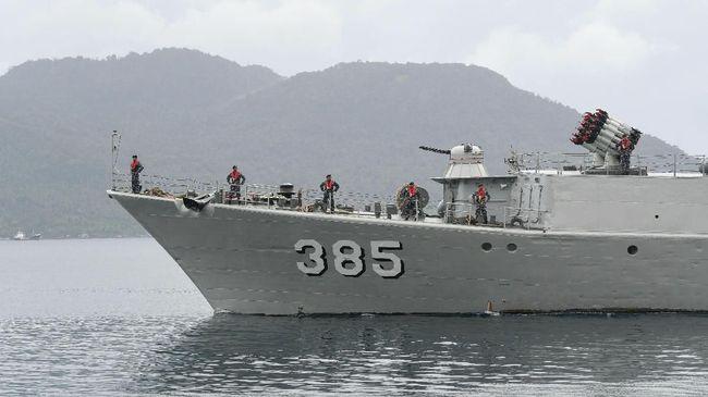 TNI AL hanya akan menggelar operasi rutin di Natuna Utara meski dekat dengan Laut China Selatan yang kini kembali memanas.