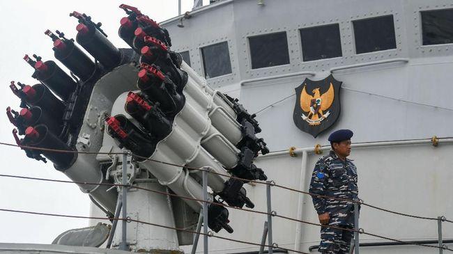 Dua kapal perang Kartoang-872 dan Mata Bongsang-873 TNI AL untuk memperkuat jajaran unsur patroli di Jayapuran dan Belawan.