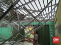 SD di Bogor Ambruk Usai Diguyur Hujan Deras